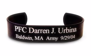 Picture of Black Memorial HeroBracelet®