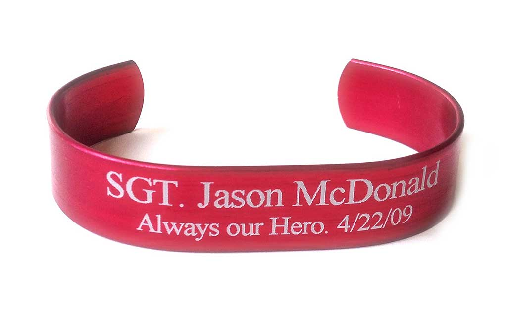 Picture of Red HeroBracelet®